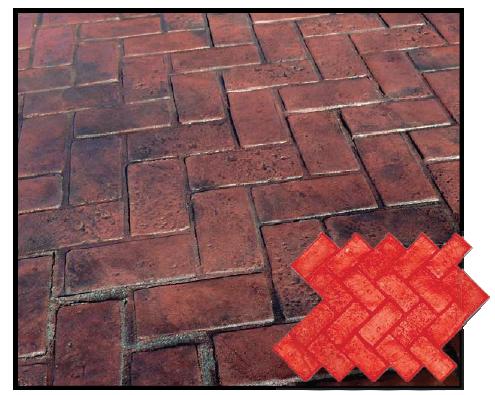 Herringbone Used Brick